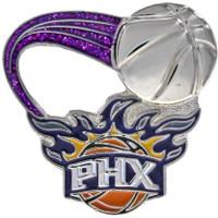 Phoenix Suns Glitter Trail Pin