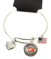 United State Marines Dimple Adjustable Bracelet