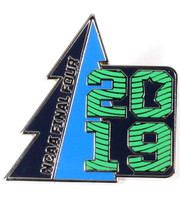 2019 Men's Final Four Minnesota Pine Pin