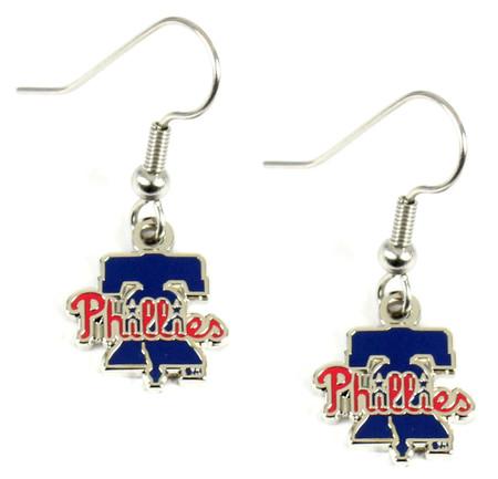Philadelphia Phillies Liberty Bell Earrings