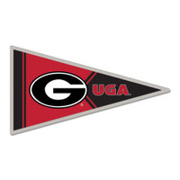 Georgia Bulldogs Pennant Pin