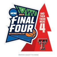 2019 Texas Tech Final Four Pin