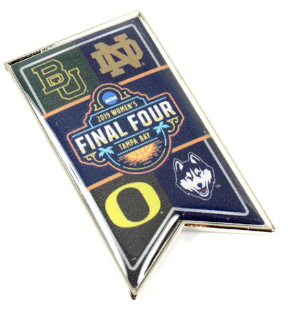 2019 Women's Final Four Dueling Pin