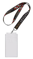 Kentucky Derby Lanyard w/ Ticket Holders