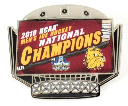 Minnesota-Duluth 2019 NCAA Hockey Champs Pin