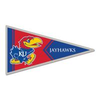 Kansas Jayhawks Pennant Pin
