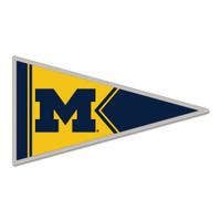 Michigan Wolverines Pennant Pin