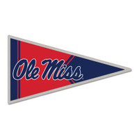 Ole Miss Pennant Pin