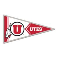 Utah Utes Pennant Pin
