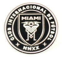 Miami International FC Logo Pin