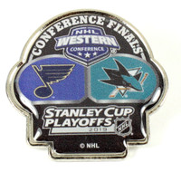 2019 NHL Western Conference Finals Blues vs. Sharks Pin