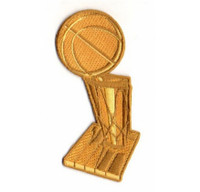 NBA Champs Trophy PATCH - 4""