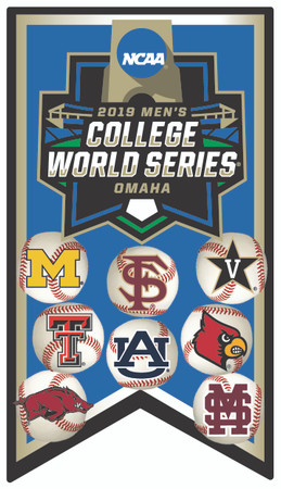 2019 College World Series Participants Pin