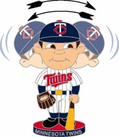 Minnesota Twins Bobble Head Pin