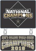Vanderbilt 2019 College World Series Champs Dangler Pin