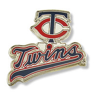 Minnesota Twins Primary Plus Logo Pin