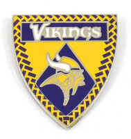 Minnesota Vikings Crest Pin