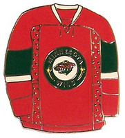 Minnesota Wild Jersey Pin