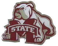 Mississippi State Logo Pin