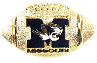 Missouri Football Pin