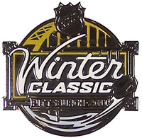 2011 NHL Winter Classic Logo Pin