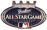 2008 MLB All-Star Game Logo Pin - Yankee Stadium