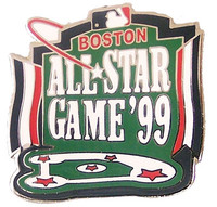 1999 MLB All-Star Game Logo Pin