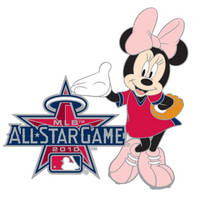 2010 MLB All-Star Game / Disney's Minnie Mouse Pin