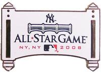 2008 MLB All-Star Game Logo Pin - Yankee Stadium Facade