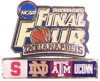 2011 Women's Final Four Dueling Team Pins