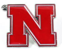Nebraska Logo Pin