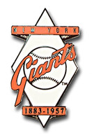 New York Giants 1883 - 1957 Pin