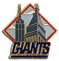 New York City Giants Pin