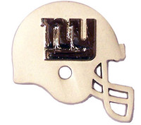 New York Giants Two Tone Helmet Double Pin