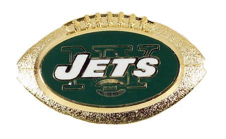 New York Jets 3-D Football Pin