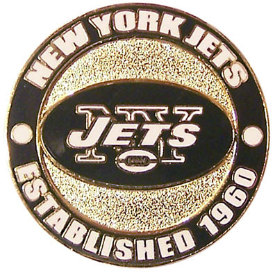 New York Jets Circle Pin - est. 1960