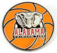 Alabama Crimson Tide Basketball Pin