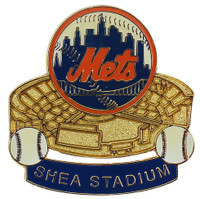 New York Mets Shea Stadium Collector Pin