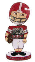 Alabama Football Bobble Head Pin