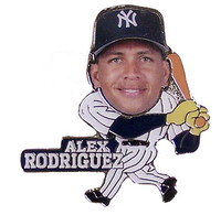 Alex Rodriguez Action Photo Pin