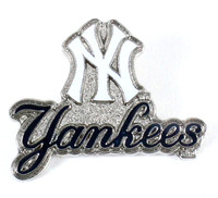 New York Yankees Primary Plus Logo Pin