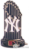 New York Yankees World Series Trophy Pin