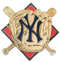 New York Yankees Glove Pin