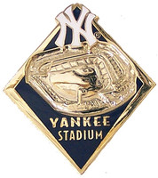 New York Yankee Stadium Diamond Pin