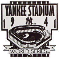 New York Yankeess Stadium 1941 World Series Pin