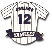 Alfonso Soriano Jersey Pin