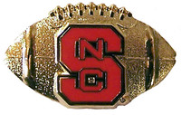 North Carolina State Football Pin