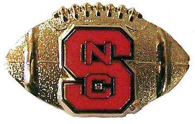 North Carolina State Football Pin