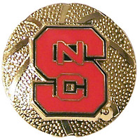 North Carolina State Basketball Pin