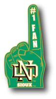 North Dakota #1 Fan Pin
